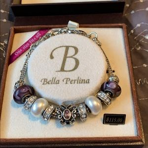 Bella Perkins purple bracelet